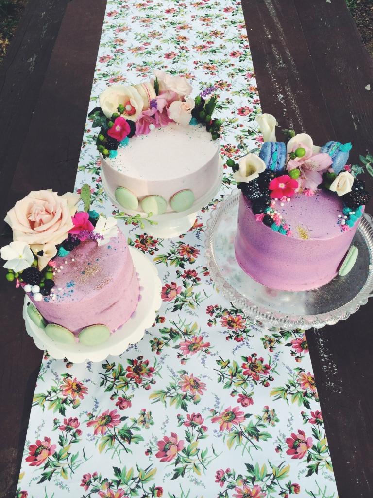 Cake trio for baby Dresser!