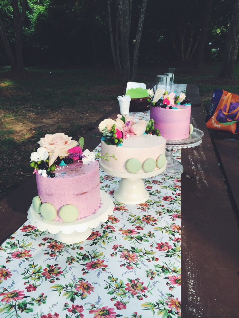 Cake trio!